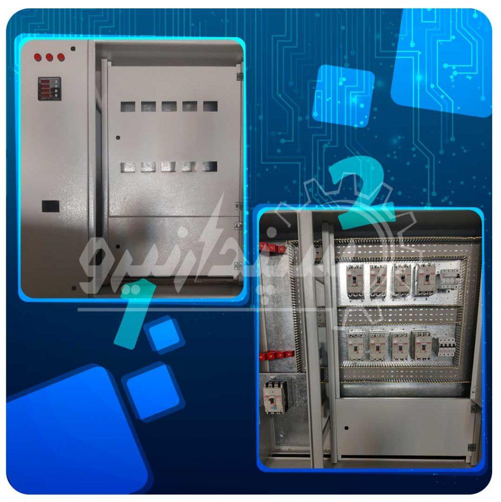 تابلو توزیع و قدرت کلید اصلی 160 آمپر و خروجی ها 63 و 40 آمپر