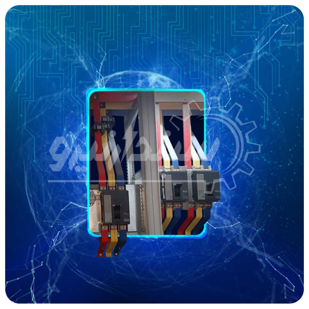 تابلو قدرت اصلی، کلید اصلی 1600 آمپر خروجی ها 1000 آمپر از برند Schneider