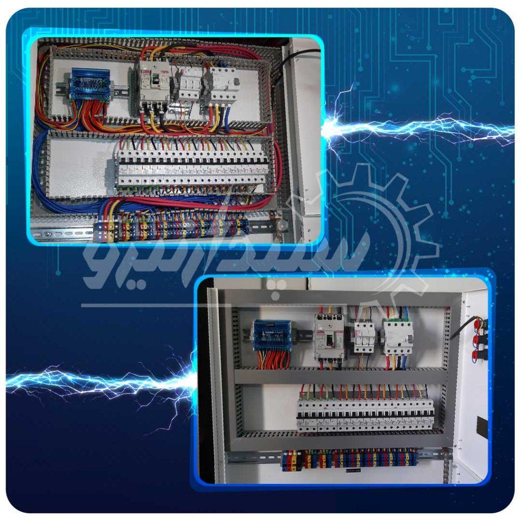 تابلو کولرگازی طبقات با کلید اصلی اتوماتیک ETI