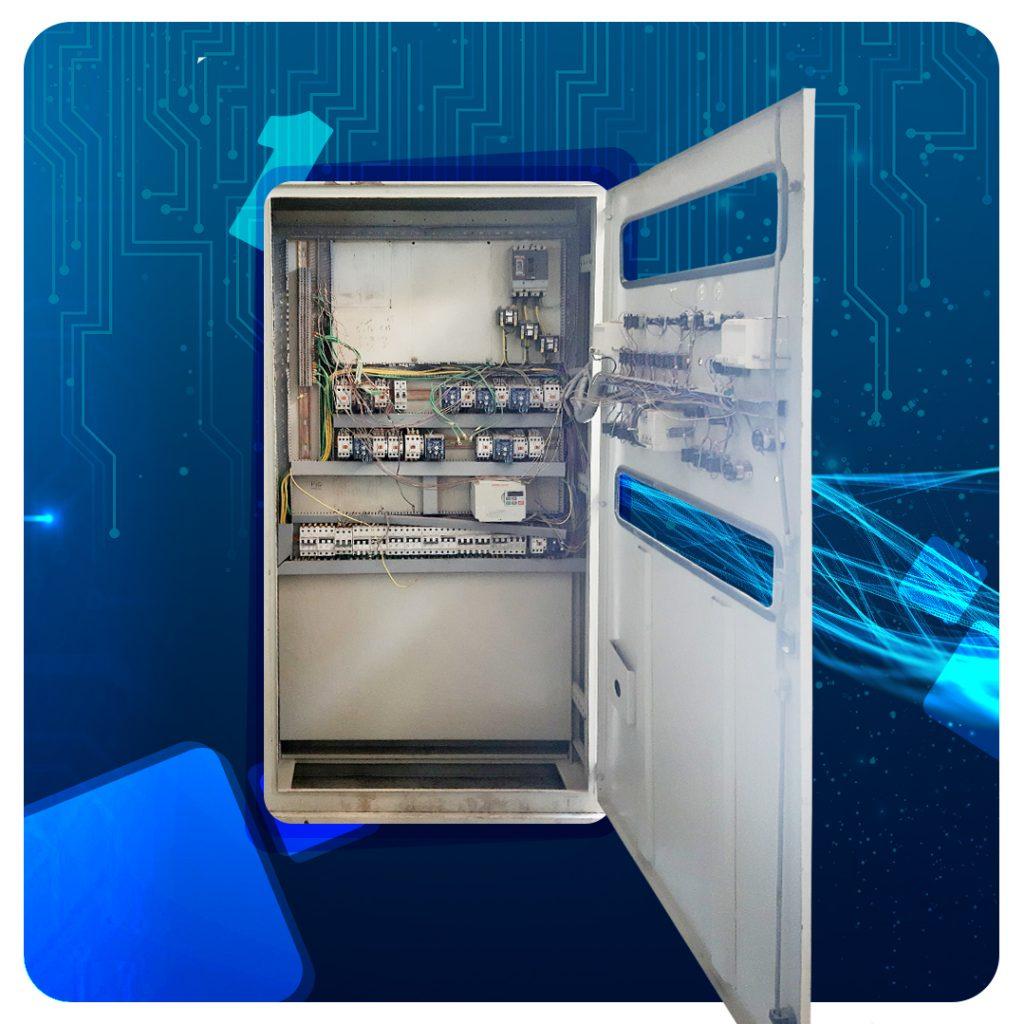 تک سلول بازسازی شده از حالت چپگرد  و راستگرد دستی به حالت اتوماتیک همراه با درایو واقع در منطقه ویژه سلفچگان  کارخانه ذوب فلزات رنگین